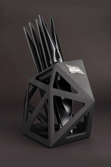 Black Diamond Knife Block