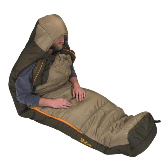 sittingsleepingbag